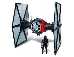 Figura Star Wars Episode VII Class II Deluxe Vehicle with Figure 2015 1st Order Special Forces TIE Fighter Hasbro