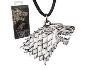 Ciondolo Stark Il Trono di Spade Game of Thrones Sigil Costume Noble Collection
