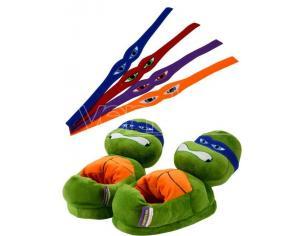 Teenage Mutant Ninja Turtles Tartarughe Slippers Characters Size 35 37 United Labels