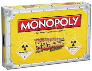 Gioco da Tavolo Monopoly Ritorno al futuro versione Inglese Winning Moves