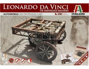 Italeri IT3101 AUTOMOBILE LEONARDO KIT cm 10 Modellino