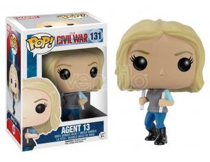 Funko Agente 13 Captain America Civil War POP Movies Figura 7232 10 cm