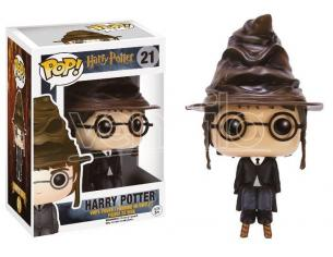 Funko Harry Potter POP Movies Vinyl Figure Harry con Cappello Parlante 9 cm