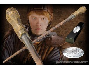 Bacchetta magica Ron Weasley Harry Potter Wand Character Edition Noble Collection