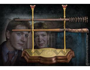 Bacchetta magica Gemelli Weasley Harry Potter Twins Noble Collection