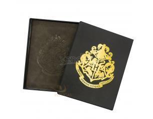 Portafoglio Porta Passaporto Harry Potter Hogwarts Cinereplicas Noble Collection