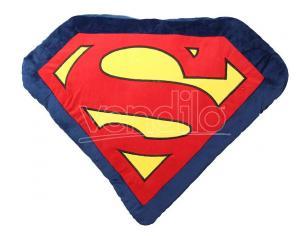 SD TOYS SUPERMAN LOGO SHAPE CUSHION CUSCINO
