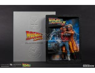 INSIGHT COLLECTIBLES BTTF SCULPTED POSTER&ULT VISUAL COLL ED VARIE