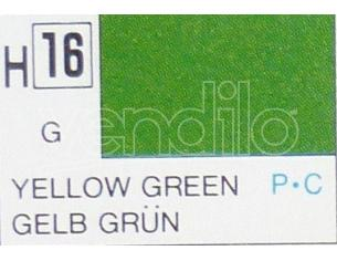 Gunze GU0016 YELLOW-GREEN GLOSS ml 10 Pz.6 Modellino