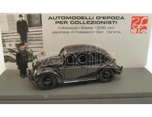Rio RI4247P VW BEETLE 1939 JAPANESE AMBASSADOR 1:43 Modellino