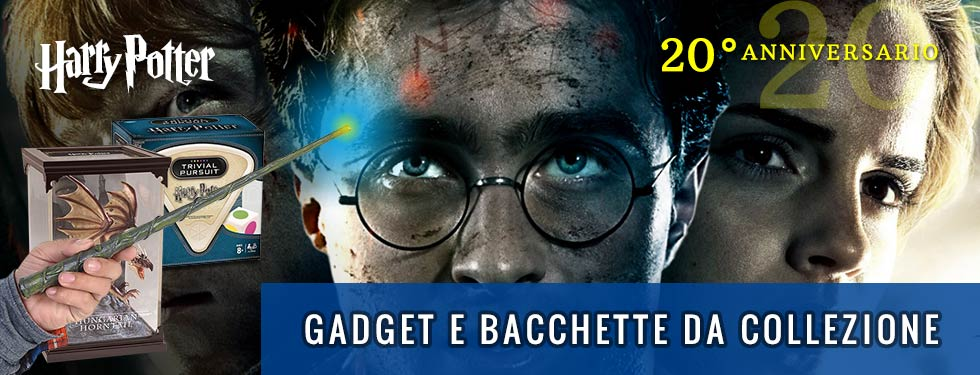 Bacchette e gadget Harry Potter